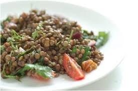 comment cuisiner des lentilles vertes salade de lentilles aux échalotes quotibien fr