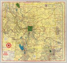 Map Of Montana by Road Map Idaho Mont Wyo David Rumsey Historical Map Collection