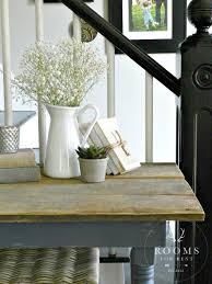 vignette simple farmhouse decor staples pitchers old