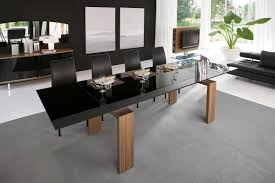 trendy dining room tables dining room contemporary dining table impressive design black room