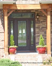 Exterior Door With Side Lights Front Doors With Sidelights Craftsman Style Single Doors With