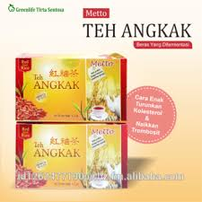 Teh Angkak metto teh angkak or yeast rice tea buy angkak tea yeast