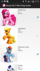 Mlp Blind Bag Brony Mlp Blind Bag Guide Android Apps On Google Play