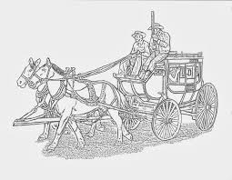 western coloring pages march 2014