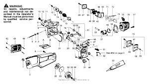 poulan 2000 gas saw parts diagrams