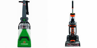 bissell big green deep carpet cleaner vs bissell proheat 2x