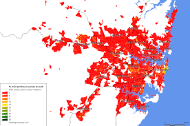 Canada Population Density Map by Density Charting Transport