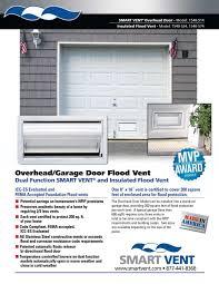Overhead Door Sizes Piquant Overhead Door Flood Vent Then Overhead Door Flood In