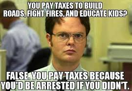 You Didn T Build That Meme - you pay taxes to build roads fight fires and educate kids false