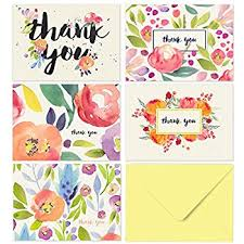 thank you cards thank you cards 40 floral thank you notes for your