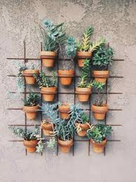 Outdoor Wall Hanging Planters by Garden Plants Darxxidecom