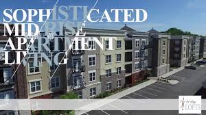 the village lofts luxury apartments in greensboro nc youtube