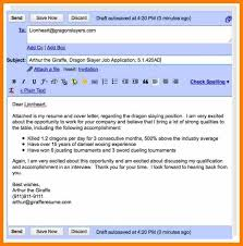 Sample Resume For Sephora by When Emailing A Resume How To Write An Email That Will Get You