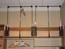 Closet Rods Luxurious Closet Hanger Rod Bracket Roselawnlutheran