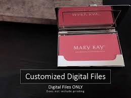 designs mary kay virtual business card also mary kay business
