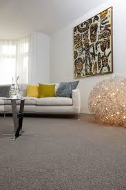 Livingroom Carpet Grey Wool Carpet Creates A Good Base For Bright Accessories In
