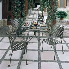 Wrought Iron Patio Table And Chairs Western Wrought Iron Patio Furniture