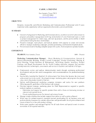 Marketing Objective Resume Positioning Statement Resume Resume For Your Job Application