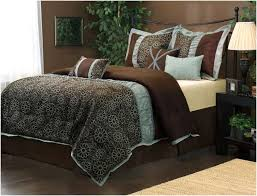 Blue And Brown Bed Sets Blue Brown Comforter Sets King Home Design Ideas