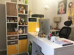 bureau coloré bureaux sur mesure dessinetonmeuble