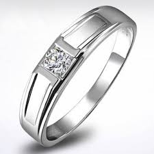 cheap rings com images Cheap 18k white gold diamond wedding rings for men couple jpg
