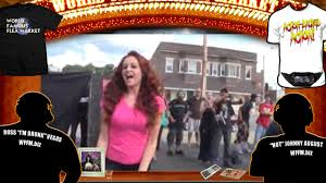 wwe diva maria kanellis does a backyard wrestling show wffm
