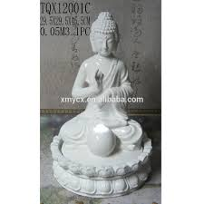 Buddha Home Decor Statues by White Buddha Statue Water Fountain For Indoor Home Decor Buy