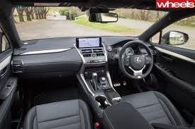 lexus lf nx interior 2018 lexus nx300 luxury awd review wheels