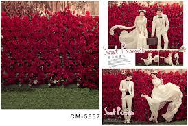 wedding vinyl backdrop garden 5x7ft indoor photography studio props printed shop
