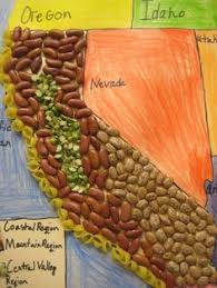 california map project image result for how to make a 3d map for school project school