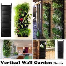 qoo10 vertical wall garden planter diy plant flower plant