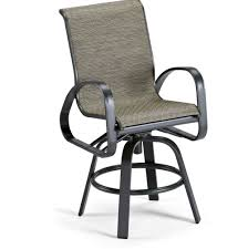 Bar Height Swivel Patio Chairs Swivel Patio Chairs With Cushions Home Design Ideas