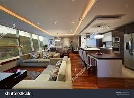 modern kitchen living room ideas living room with kitchen interior design aecagra org