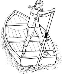 rowing boat clip art at clker com vector clip art online