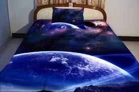 Galaxy Bed Set Galaxy Bedding Set Two Sides Printing Galaxy By Tbedding