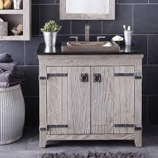 Bathroom Cabinets  Americana Reclaimed Bathrooms Vanity Cabinets - Bathroom wood vanities solid wood