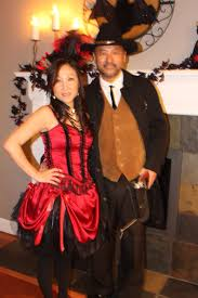 saloon and cowboy couples costume idea couples