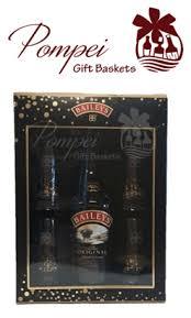 baileys gift set baileys liqueur gift set w 4 glasses pompei