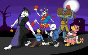 undertale halloween trick or treating by trelock on deviantart