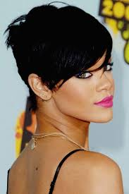 front and back view of hairstyles short hairstyles awesome rihanna short hairstyles front and back