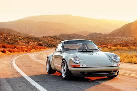 retro porsche custom porsche 911 x singer vehicle design
