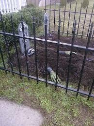 42 best halloween fence images on pinterest halloween graveyard