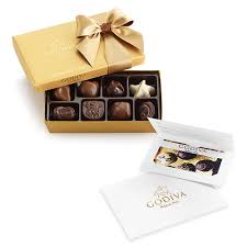 assorted gift boxes 100 gift card assorted chocolate gold gift box 8 pc godiva