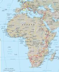 Africa Map by Africa Map