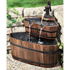 making bar with whiskey barrel planters home decorations insight
