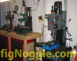 Bench Top Mill Enco Rong Fu 45 Rf45 Dovetail Square Column Mill Drill Harbor