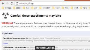 Chrome Flags Android Fix Err Quic Protocol Error Problem Chrome Youtube