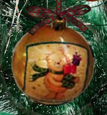 decoupage ornament how to the artful crafter