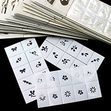 amazon com btartbox 35pcs pattern template stencil stickers set