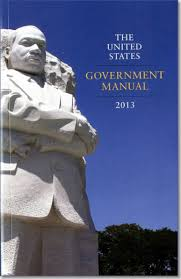 united states government manual 2013 u s government bookstore
